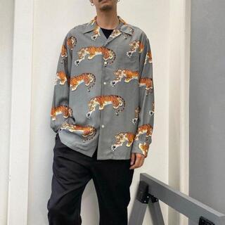 ワコマリア(WACKO MARIA)の21AW WACKO MARIA × TIM LEHI 虎柄 ハワイアンシャツ(シャツ)
