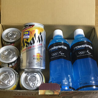 アサヒスーパードライ 生ジョッキ缶 6缶 と POWERADE 2本(ビール)