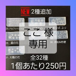 【25.アルファベット(小文字)】 シリコン モールド  百合 等 ミニサイズC