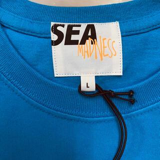 GDC - WIND AND SEA / Madness Tee Blue L