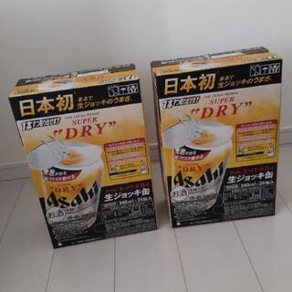 アサヒ(アサヒ)のアサヒ ビール  生ジョッキ缶 2箱(ビール)