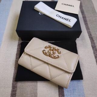 CHANEL - 値下げしました💕シャネル💕コインケース カード入れ 財布 ベージュ