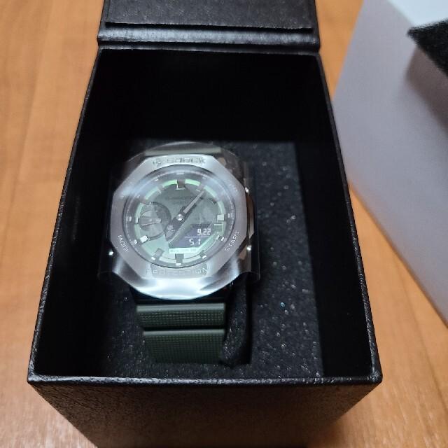 G-SHOCK(ジーショック)のCASIOジ-ショックGM2100グリーン メンズの時計(腕時計(デジタル))の商品写真
