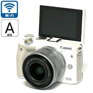 Canon - 【Canon】美品★Wi-Fi&かんたん操作★EOS M3レンズキット