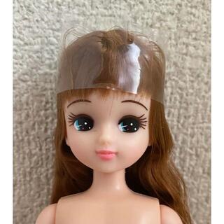 リカちゃん キャッスル 人形 新品 明茶色 シャギー ジグソバ き