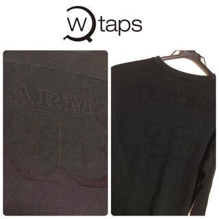 ダブルタップス(W)taps)のwtaps 7分丈 ナンバリング M(Tシャツ/カットソー(七分/長袖))