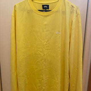 ステューシー(STUSSY)のSTUSSY イエローロンT(Tシャツ/カットソー(七分/長袖))