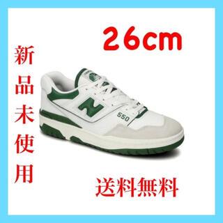 New Balance - ニューバランス BB550WT1 グリーン 26cm