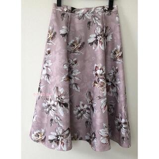 JUSGLITTY - 美品⭐︎ジャスグリッティー グラデフラワープリントスカート