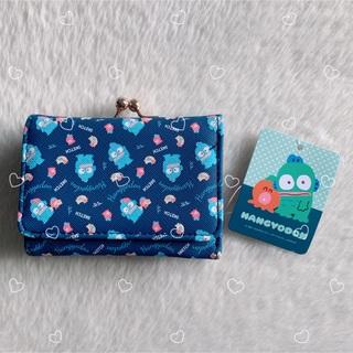 ♥ハンギョドン♥三つ折財布♥がま口財布 総柄♥