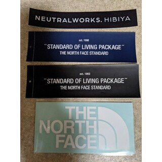 THE NORTH FACE - ノースフェイス STANDARD ニュートラルワークス ステッカー4枚