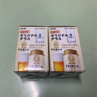 アサヒ(アサヒ)のアサヒ生ビール マルエフ 非売品グラス(グラス/カップ)
