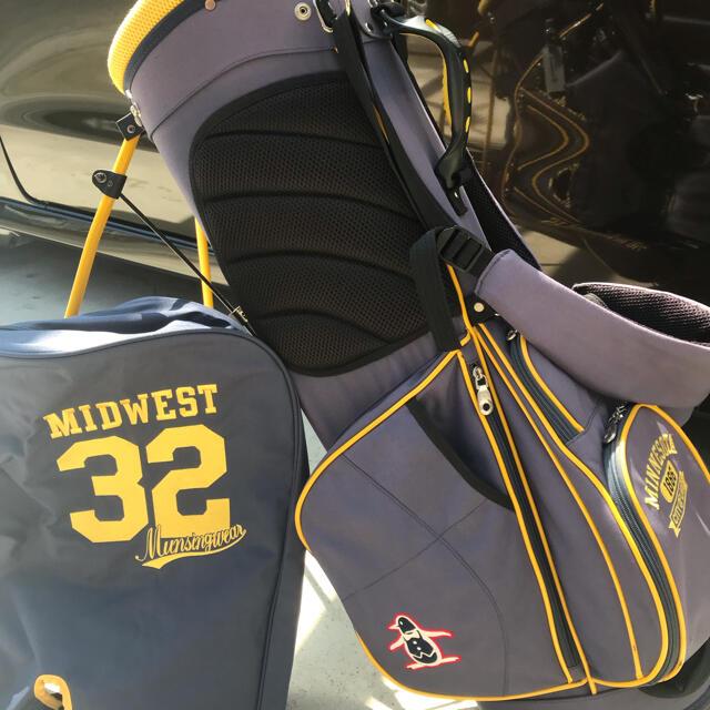 Munsingwear(マンシングウェア)のキャディーバック スポーツ/アウトドアのゴルフ(バッグ)の商品写真