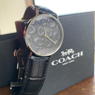 コーチ(COACH)の未使用 coach 腕時計 新品ベルトセット(腕時計(アナログ))