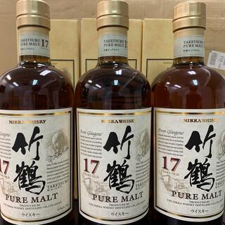 ニッカウイスキー(ニッカウヰスキー)のニッカウヰスキー 竹鶴17年 ピュアモルト(ウイスキー)