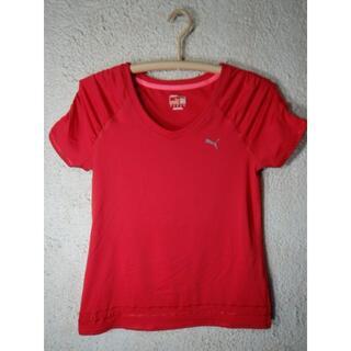 プーマ(PUMA)のo3750 PUMA プーマ レディース スポーツ トレーニング tシャツ(Tシャツ(半袖/袖なし))
