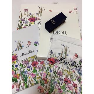 ディオール(Dior)のDior ディオール 限定 花柄 巾着 ポーチ ノート ショッパー リップケース(その他)