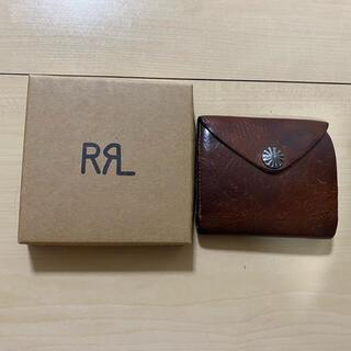 RRL - rrl コンチョ レザーウォレット