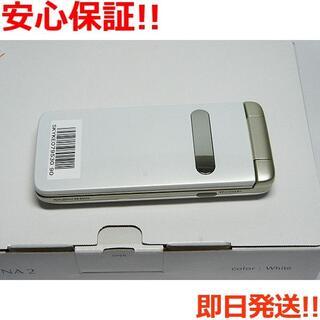 キョウセラ(京セラ)の新品 au GRATINA 2 ホワイト (携帯電話本体)