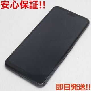 フジツウ(富士通)の超美品 SIMフリー arrows M05 ブラック (スマートフォン本体)