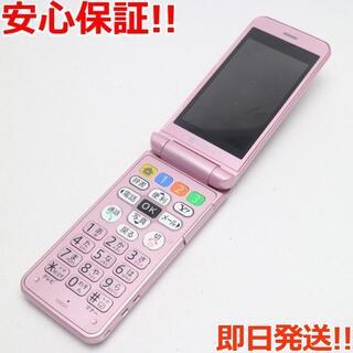 シャープ(SHARP)の良品中古 判定○ 108SH ピンク 白ロム(携帯電話本体)