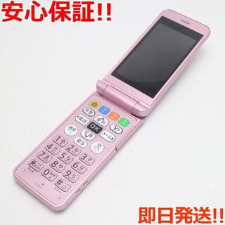 シャープ(SHARP)の超美品 判定○ 108SH ピンク 白ロム(携帯電話本体)