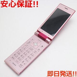 キョウセラ(京セラ)の超美品 Y!mobile 502KC ピンク 本体 白ロム (携帯電話本体)