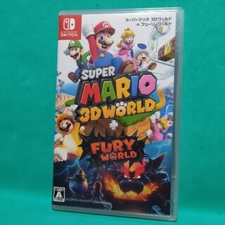 任天堂 - 【美品】スーパーマリオ 3Dワールド + フューリーワールド