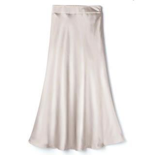 グレイル(GRL)のGRL サテンマーメイドスカート(ロングスカート)