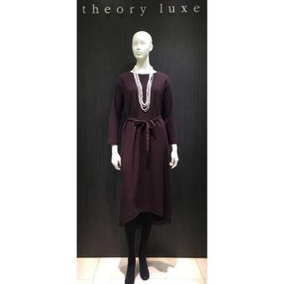 Theory luxe - theory luxe 2wayウールジャージーワンピース