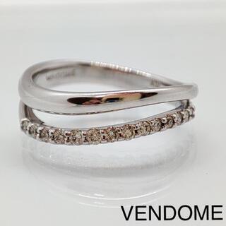 Vendome Aoyama - ヴァンドーム ダイヤモンド リング K18WG 神楽坂宝石