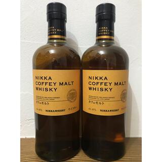 ニッカウイスキー(ニッカウヰスキー)のニッカ カフェモルト【新品•未開栓】2本(ウイスキー)