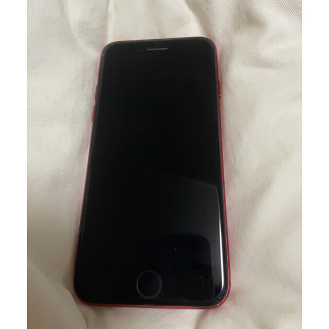 Apple(アップル)のiphone8 64g red スマホ/家電/カメラのスマートフォン/携帯電話(スマートフォン本体)の商品写真