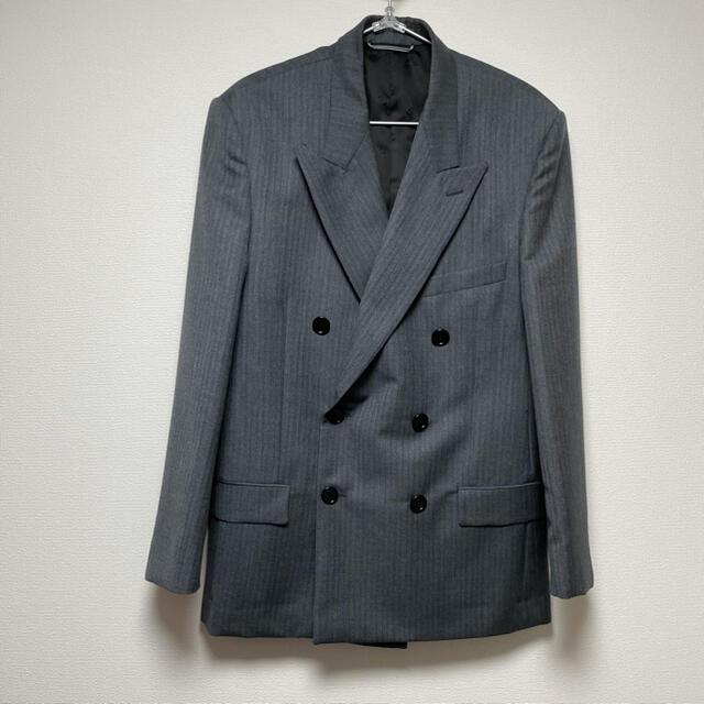 DIOR HOMME(ディオールオム)のdior 19AW ストールダブルジャケット セットアップ メンズのジャケット/アウター(テーラードジャケット)の商品写真