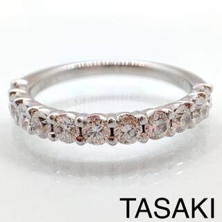 TASAKI - TASAKI タサキ ブリッランテ 26 ハーフエタニティ リング 神楽坂宝石