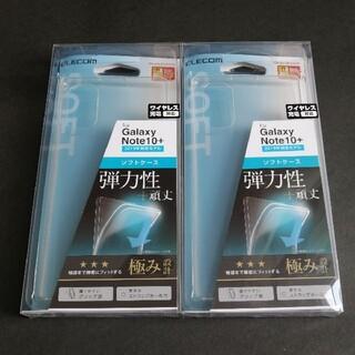 Galaxy Note10+ TPU クリア ソフトケース 2個