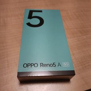 OPPO - OPPO Reno5 A SIMフリー CPH2199 シルバーブラック