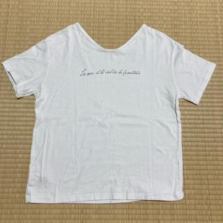 アースミュージックアンドエコロジー(earth music & ecology)のアースミュージックエコロジー Tシャツ 2way フリーサイズ(Tシャツ(半袖/袖なし))