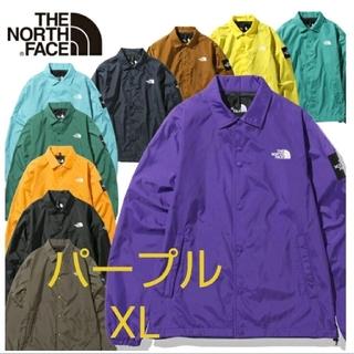 THE NORTH FACE - 新品 ノースフェイス アウター ジャケット コーチジャケット パープル 紫