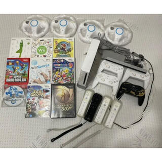 Wii - Wii本体 ゲームソフト9本セット まとめ売り