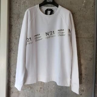 N°21 - N°21 ヌメロヴェントゥーノ スウェット トレーナー ホワイト XL