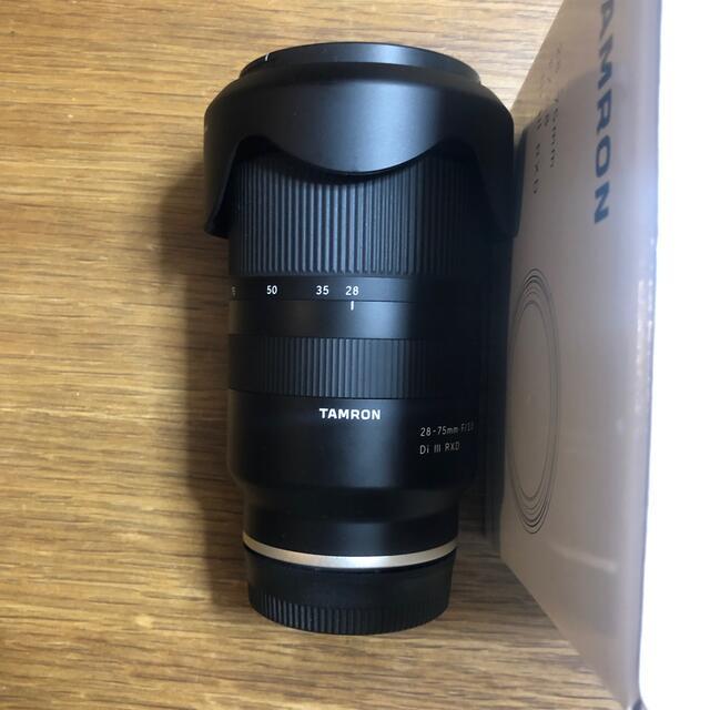 TAMRON(タムロン)のTAMRON(A036) 28-75mm F/2.8 Di Ⅲ RXD スマホ/家電/カメラのカメラ(レンズ(ズーム))の商品写真