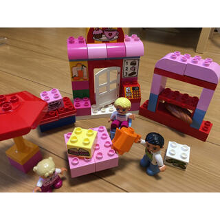 Lego - LEGO レゴ デュプロ カフェ 人形 お買い物