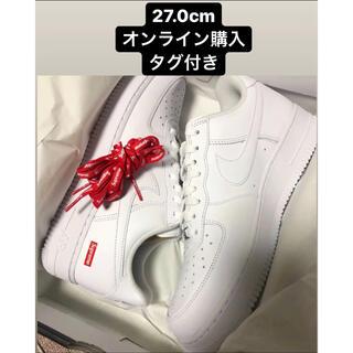 Supreme - 【27.0cm】Supreme Nike Air Force 1 Low 白