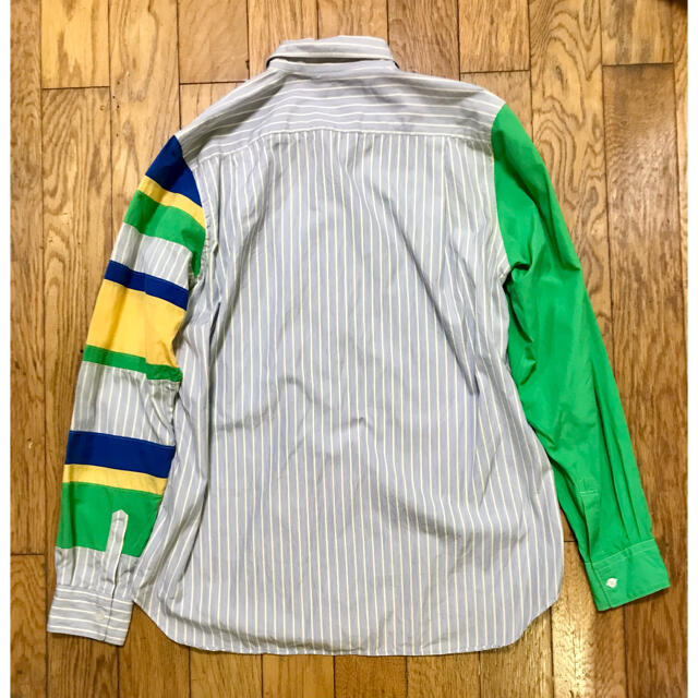 COMME des GARCONS(コムデギャルソン)のCOMME des GARCONS SHIRT クレイジーシャツ ストライプ メンズのトップス(シャツ)の商品写真