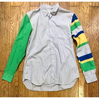 コムデギャルソン(COMME des GARCONS)のCOMME des GARCONS SHIRT クレイジーシャツ ストライプ(シャツ)