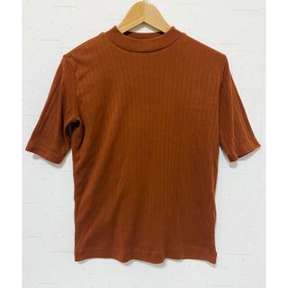 ムジルシリョウヒン(MUJI (無印良品))の無印 ハイネック5分袖Tシャツ (Tシャツ(半袖/袖なし))