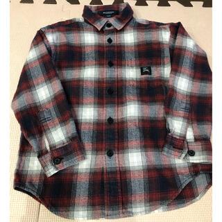 バーバリー(BURBERRY)の美品 バーバリー シャツ 110 アウター 羽織 上着(カーディガン)