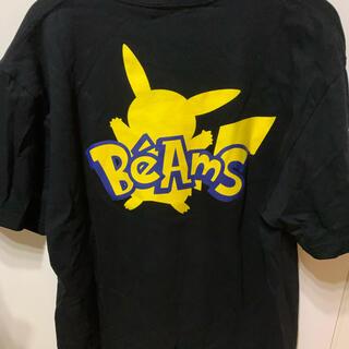 BEAMS - ポケモンセンター渋谷 BEAMSコラボTシャツ ピカチュウ