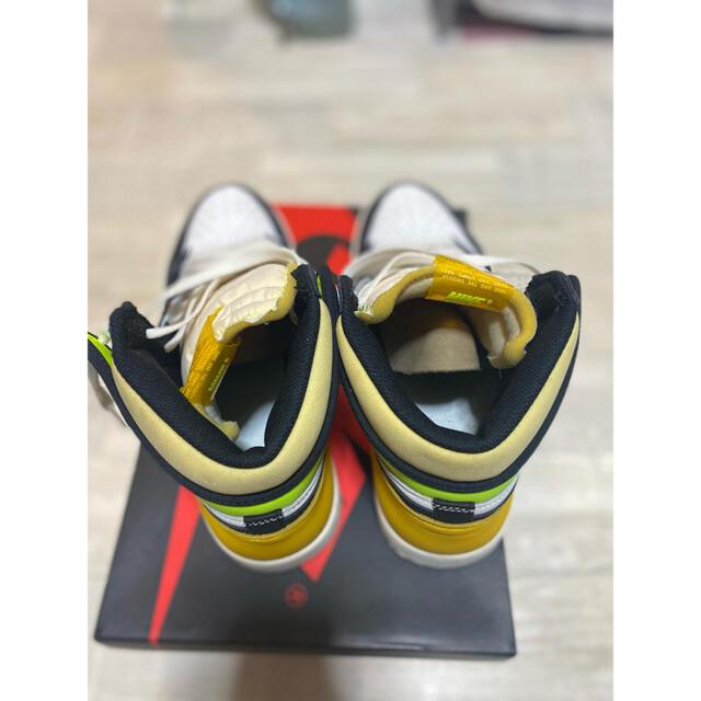 "NIKE(ナイキ)のNIKE AIR JORDAN 1 HIGH OG ""VOLT GOLD 28 メンズの靴/シューズ(スニーカー)の商品写真"